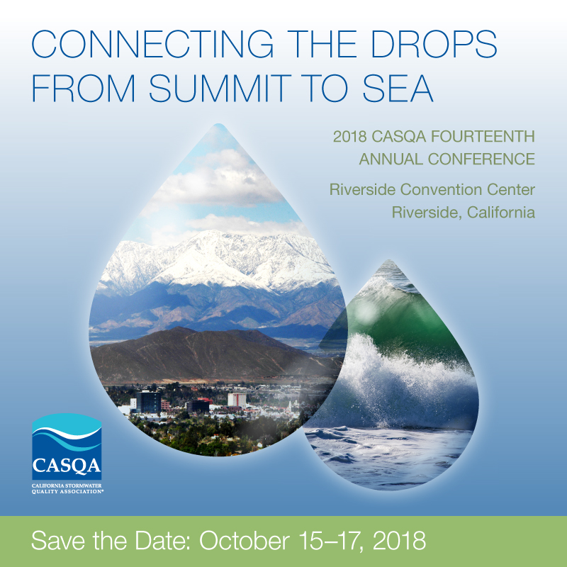 Annual Conference | CASQA - California Stormwater Quality Association